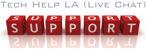 Tech Help LA Live Chat